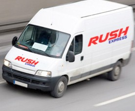 rush van new logo